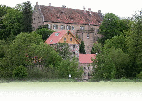 Aschach castle mill (Germany)
